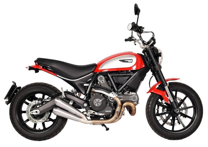Spark Ducati Scrambler Slip On Evo V Stainless Steel