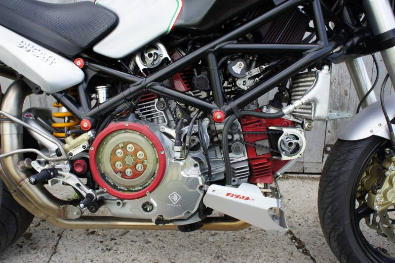 Ducati Monster Dry Clutch Case Cover