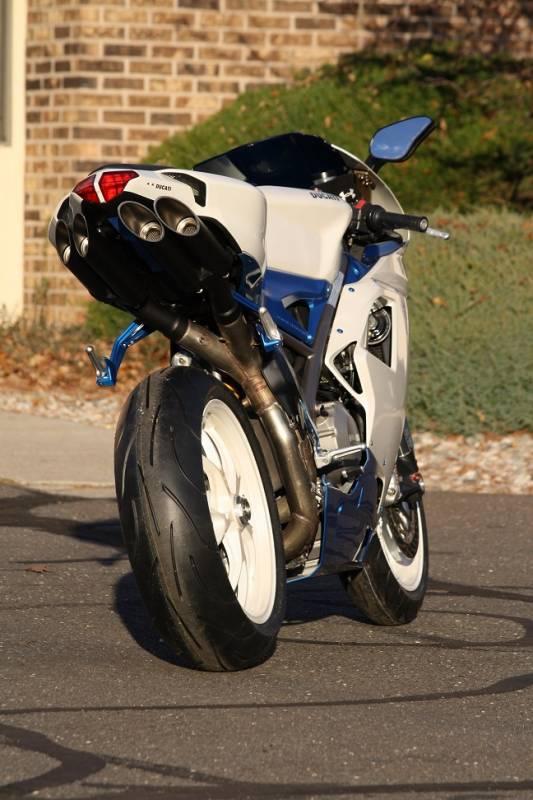 Toce T Slash Exhaust Ducati 848 1098 1198