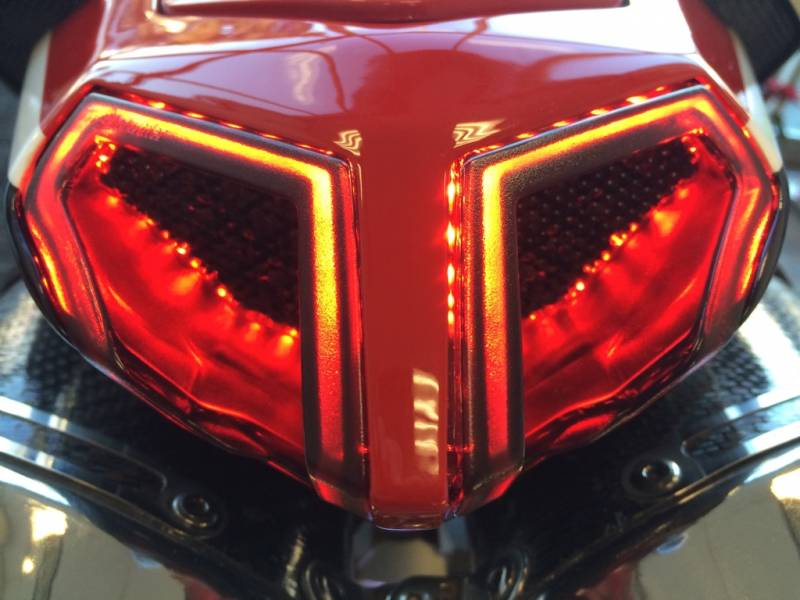 Integrated Sequential Tail Light Ducati 848 1098 1198