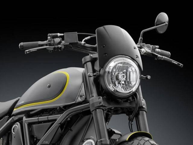Rizoma Billet Aluminium Headlight Fairing With Adapter