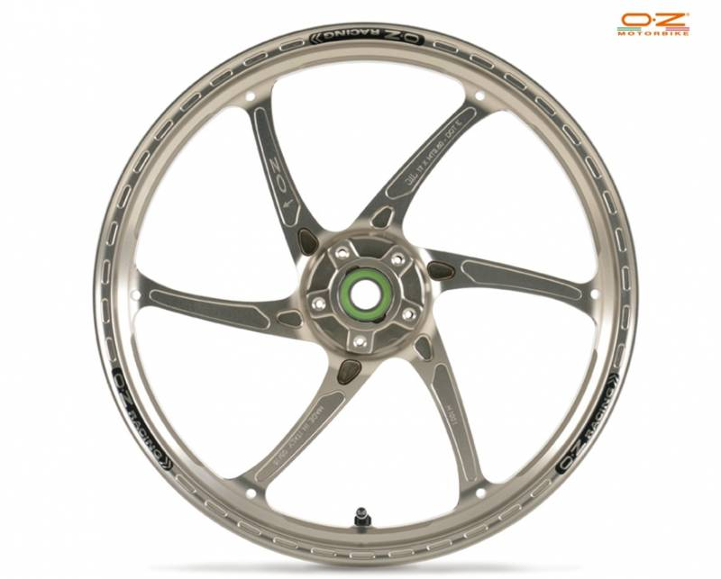 Oz Motorbike Gass Rs A Forged Aluminum Front Wheel Kawasaki Zx6r