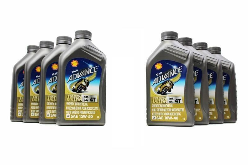 Ducati Oil Change Kit Shell Advance 4t Ultra 10w 40 Or