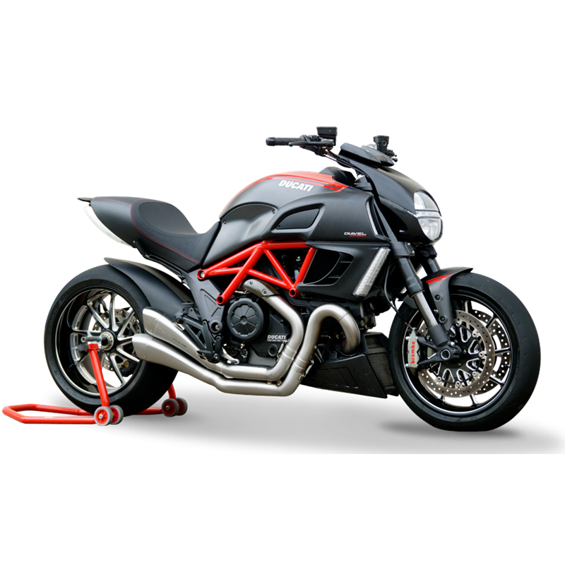 HP Corse Hydroform Slip-On Exhaust System: Diavel