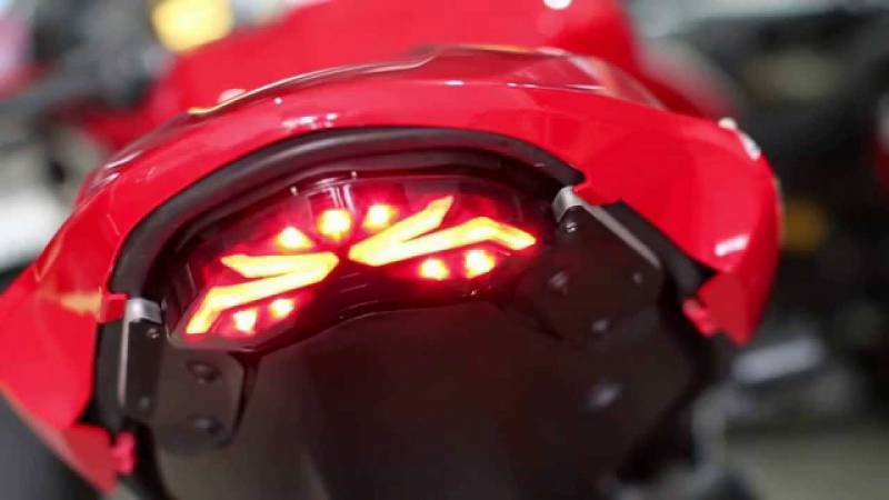 competition werkes integrated tail light: monster 1200/821 :stealth