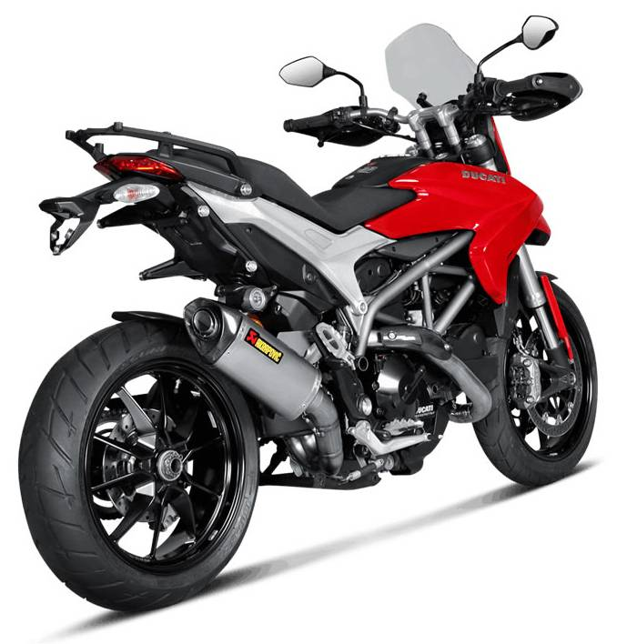 akrapovic titanium slip on ducati hypermotard hyperstrada 821. Black Bedroom Furniture Sets. Home Design Ideas