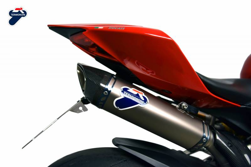 Ducati Streetfighter Exhaust Systems