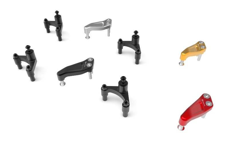 Ducabike/Öhlins Steering Damper Kit: Ducati Supersport 2017-