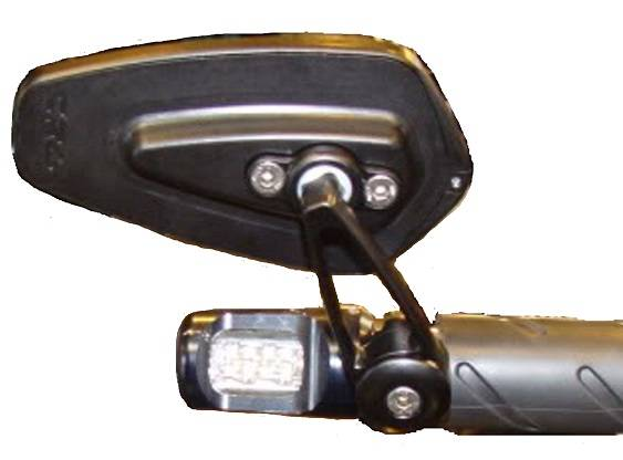 Oberon Bar End Turn Signals W Crg Arrow Mirrors Kit