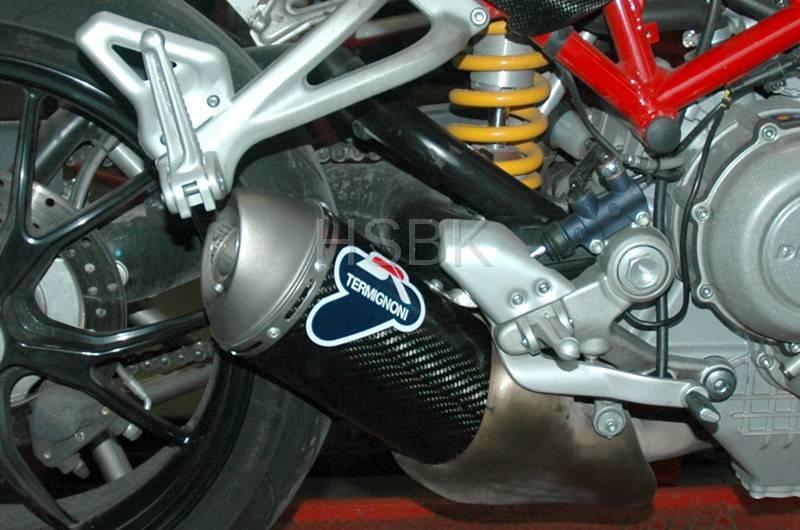 Termignoni Racing Carbon Fiber Slip Ons Ducati Monster S4r S4rs