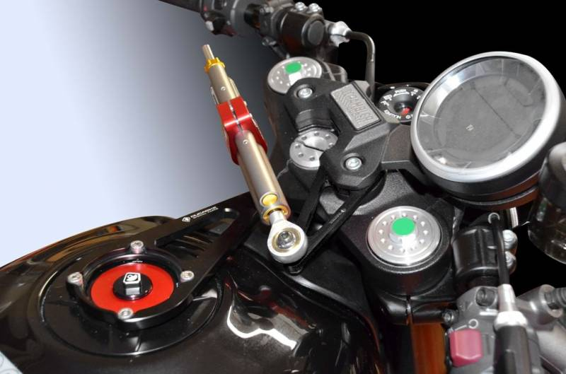 Ducabike/Öhlins Steering Damper Kit: Ducati Scrambler Cafe Racer