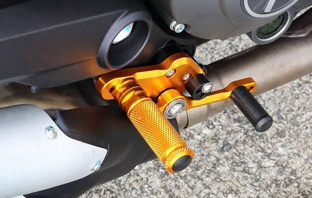 Sato Racing Rearsets: Ducati Scrambler / Monster 797
