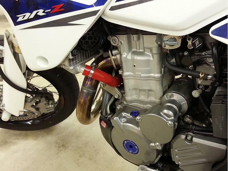 CORSE Silicone Coolant Hose Kit: Suzuki DRZ-400SM