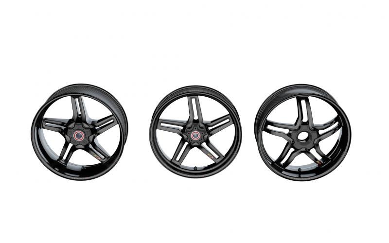 Bst Rapid Tek Carbon Fiber 5 Split Spoke Wheel Set Ducati Diavel