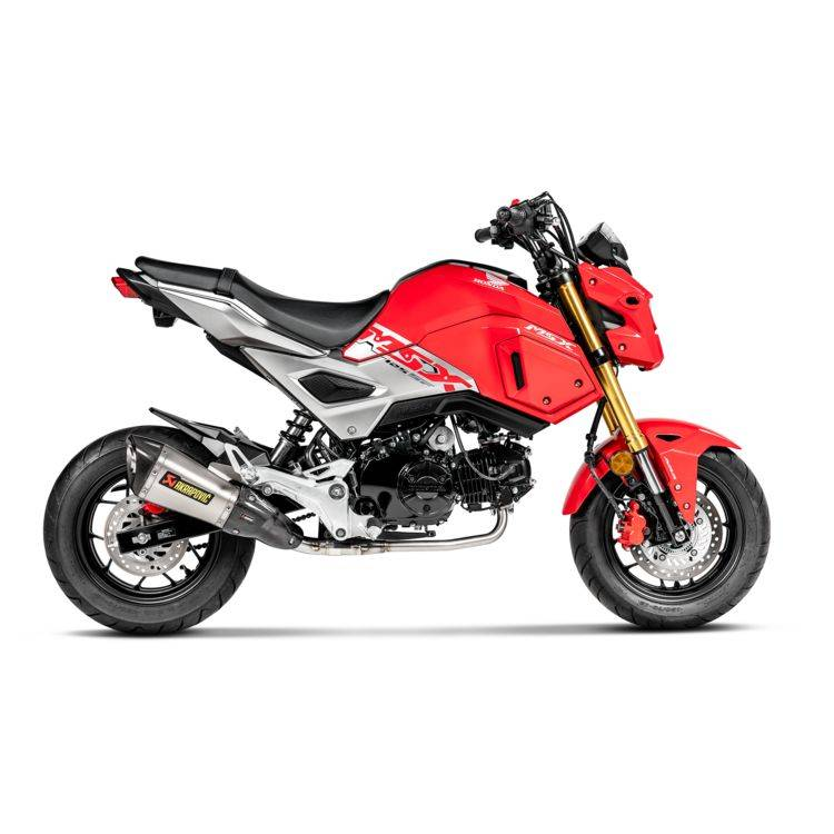 Akrapovic Racing Exhaust System Honda Grom 2017-2019