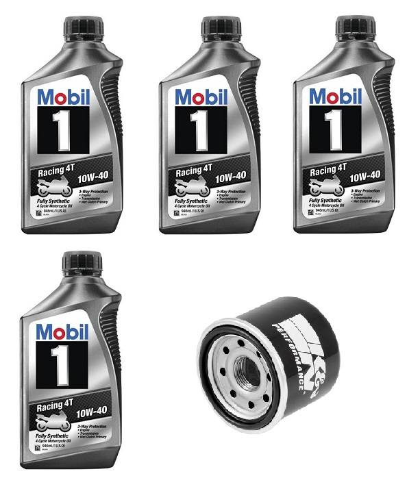Mobil 1 Oil Change >> Mobil 1 10w 40 Oil Change Kit Yamaha R3