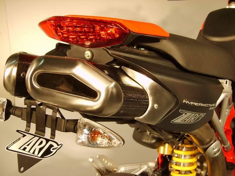 ZARD Penta ALU Slip-ons: Hypermotard 796-1100/EVO