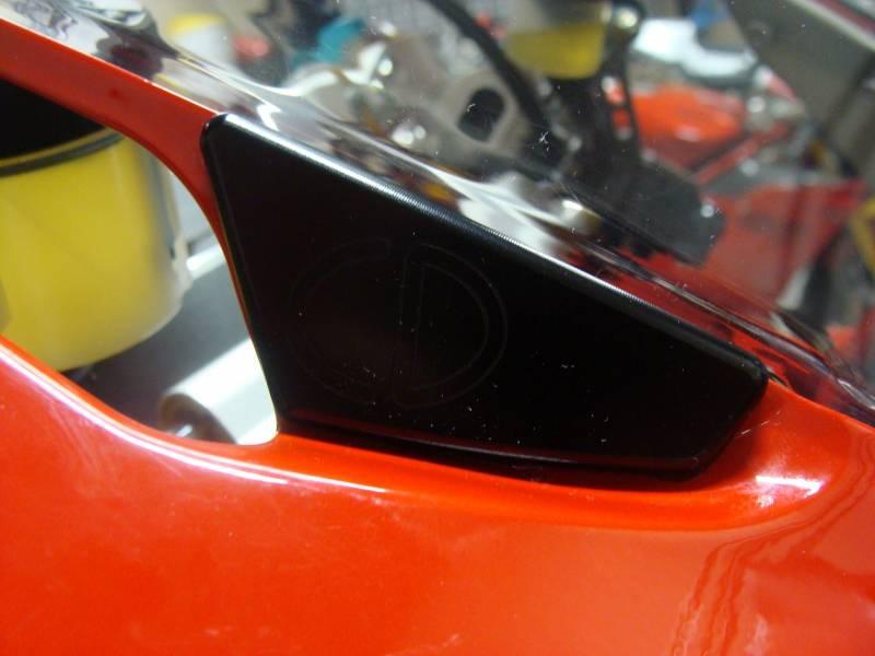Oberon Bar End Turn Signals Kit Ducati 899 959 1199 1299
