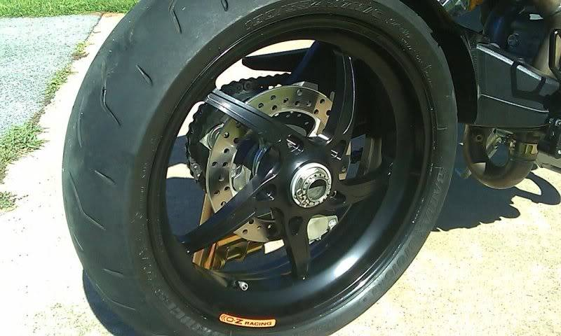Ducati Streetfighter  Rear Wheel Nut Size