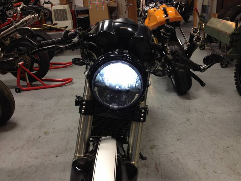 Corse Dynamics Custom Led Headlight 7 Inch