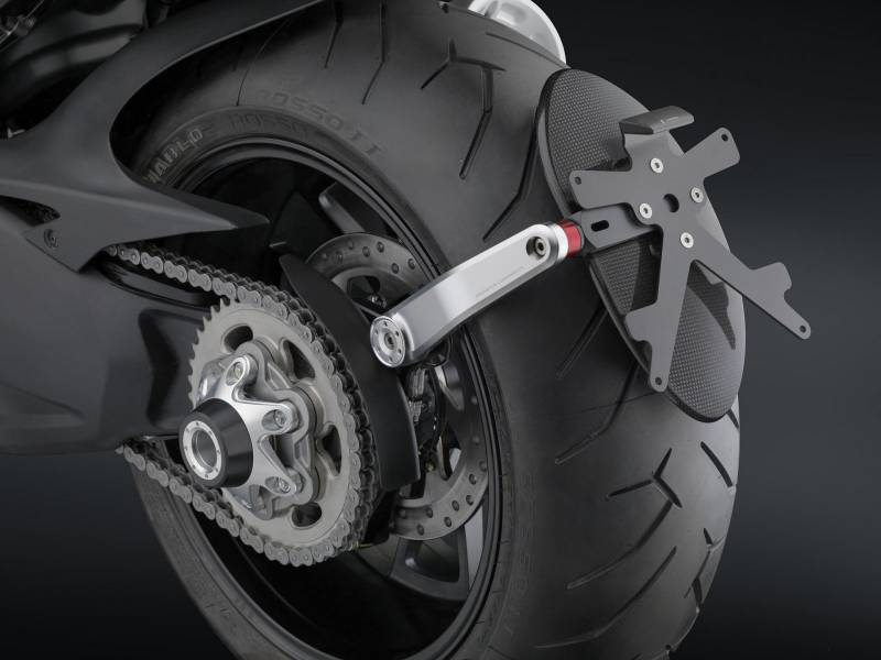 Rizoma Arm Side License Plate Support Diavel