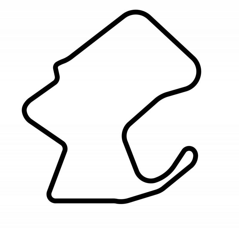 Tracks of the World Sticker: Mazda Raceway Laguna Seca