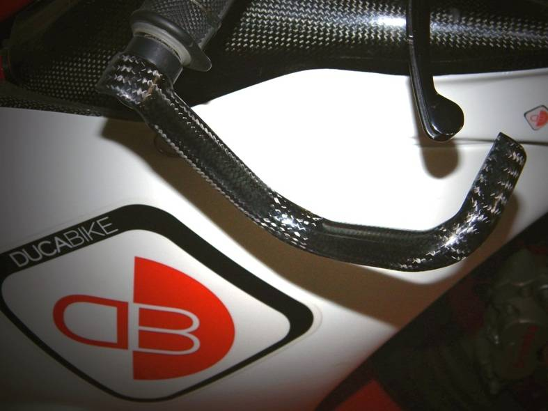 Ducabike Carbon Fiber Brake Lever Guard
