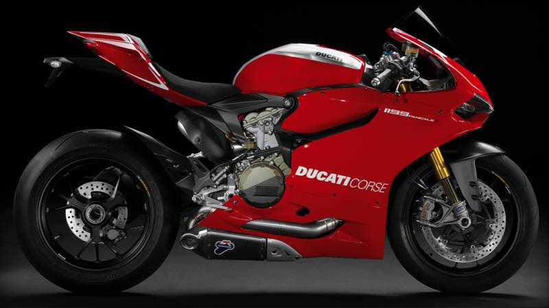 Ducati Corse Sticker Panigale