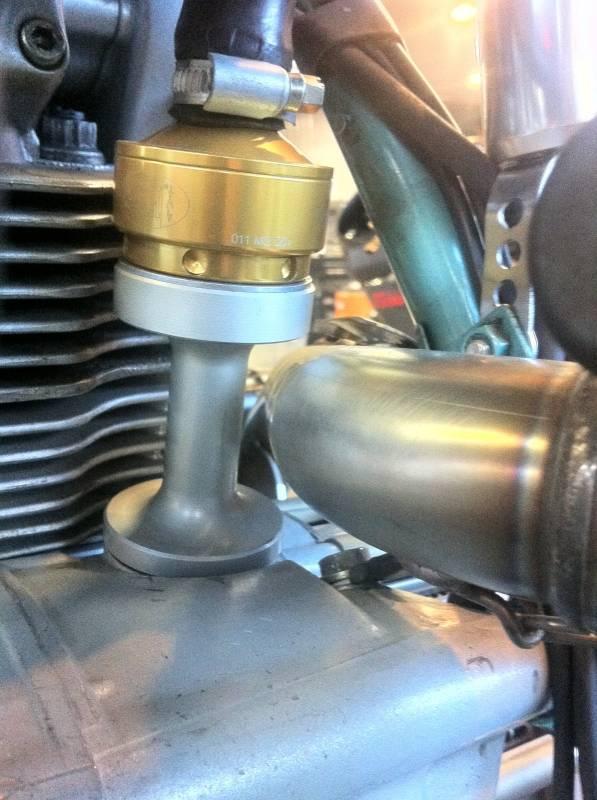 Corse Dynamics Ducati Billet Crankcase Breather Riser