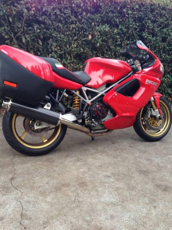 motowheels project bike 2002 ducati st4s rh motowheels com Yellow Ducati ST4 Tank Pad Ducati ST4