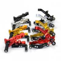 Ducabike - Ducabike Rear Sets: Ducati 1299 / 1199 / 899 /959 [Black and Gold Only]