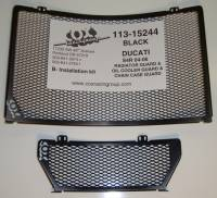 COX Racing - COX Radiator and Oil Cooler Guard: Ducati ST2-ST3-ST4, Monster S4R