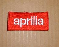 Patches - Aprilia Logo Patch: Red