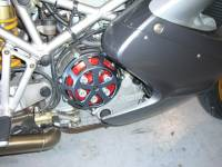 Motowheels - MW Billet Clutch Cover: 10 Spoke