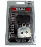 Ferodo - FERODO PLATINUM Organic Rear Brake Pads: Brembo Late Rear Caliper