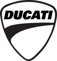 Ducati Shield Sticker: 4 inch