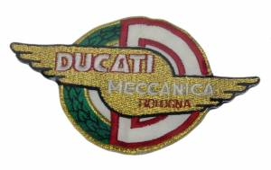 Patches - Ducati Meccanica Wing Patch - Image 1