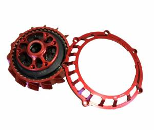STM - STM Ducati EVOLUZIONE EVO-GP Slipper Clutch Complete with 40T Plates and Basket
