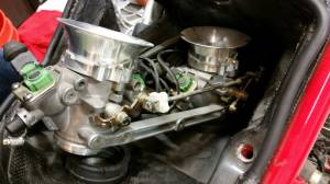 Used Parts - Used Dual Injector Throttle Bodies with Velocity Stacks 748-998 - Image 1