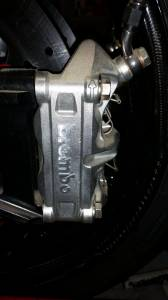 Used Parts - USED Set Of Brembo 4 Pad Brake Calipers- Like New