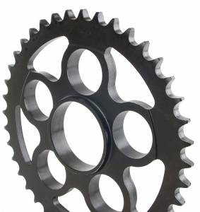 SUPERLITE - SUPERLITE 525 Pitch Direct Replacement Steel Rear Sprocket: 848, SF848, HM796-1100, M796, MTS1000-1100, S4R, S4RS