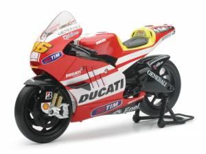 Motowheels - NewRay Die-Cast 1:12 Scale Ducati GP11 Rossi