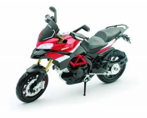 Motowheels - NewRay Die-Cast 1:12 Scale Ducati Multistrada 1200S Pikes Peak
