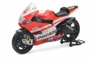 Motowheels - NewRay Die-Cast 1:12 Scale Ducati GP11 Nicky Hayden