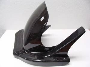 BST Wheels - BST Pre-Preg Carbon Fiber Rear Hugger: Suzuki GSX-R 1000 03-04 - Image 1