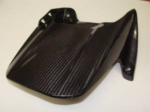 BST Wheels - BST Pre-Preg Carbon Fiber Rear Hugger: Yamaha R1 04-06