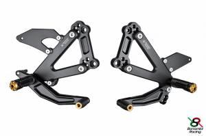 Bonamici Racing - Bonamici Adjustable Billet Rearsets: Ducati Paul Smart, Sport Classic