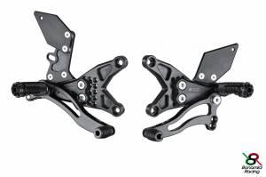 Bonamici Racing - Bonamici Adjustable Billet Rearsets: Kawasaki ZX-10R  11-15