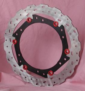 Braketech - BrakeTech AXIS Cobra Stainless Steel Series: Multistrada 1000/1100 [Pair]