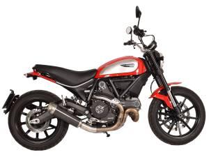 Spark - Spark Ducati Scrambler Slip-on: Evo V Carbon Fiber, Made in Italy